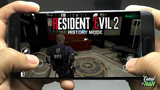 تحميل لعبة RESIDENT Evil 2 REMAKE للاندرويد معدلة بغرافيك HD