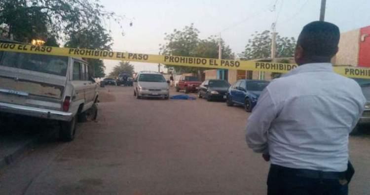 Un empleado del ayuntamiento  de Culiacán es ejecutado frente a su madre