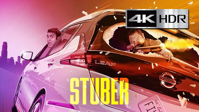 Stuber: Locos al volante (2019) 4K UHD [HDR] Latino-Castellano-Ingles