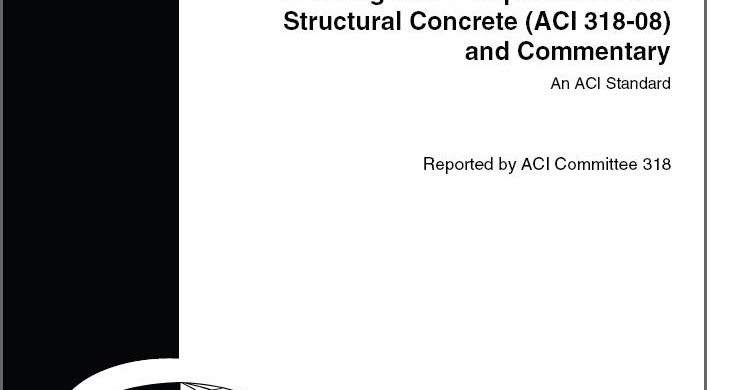 ACI 318M-08 Building Code Requirements for Structural