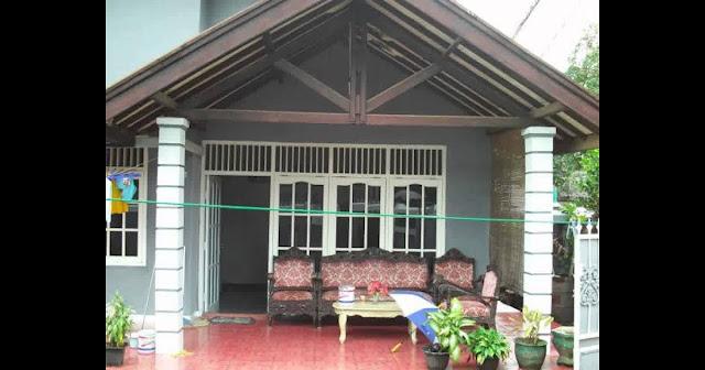 model dak teras rumah minimalis