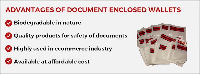 Advantages of Document Enclosed Wallets