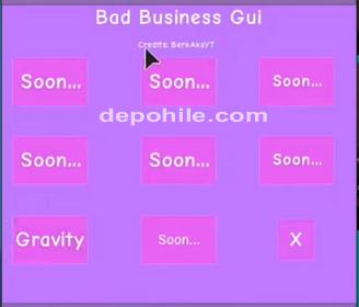 Roblox Bad Business Oyunu Yer Çekimi + Zıplama Script Hilesi