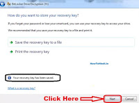 how to make your pen drive password protected