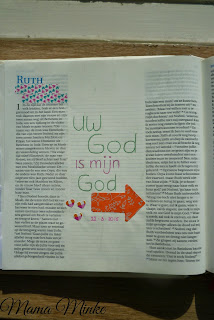 Afbeelding creatief met je bijbel Ruth