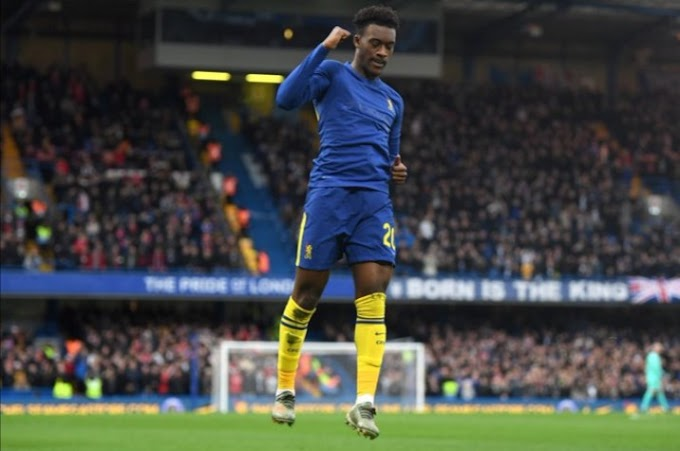 'Have Been Agitated' - Hudson Odoi Happy To Score For Chelsea After 3-Months