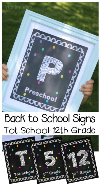 photo regarding Printable Back to School Signs titled Printable Again toward College or university Symptoms Tot Higher education-12th Quality