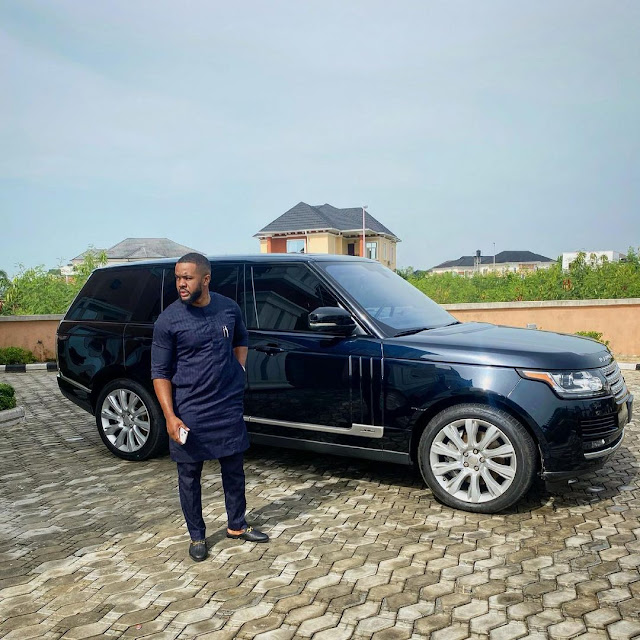 God blessed me with 2 SUV cars after spending my money on church Project- Nollywod actor William Uchema celebrates (Photos)