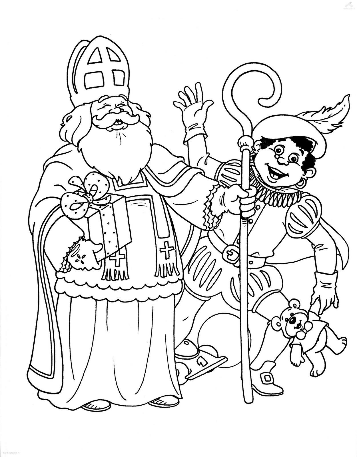 De Kikkerklas: Thema 'Sint en Piet komen bijna op bezoek'
