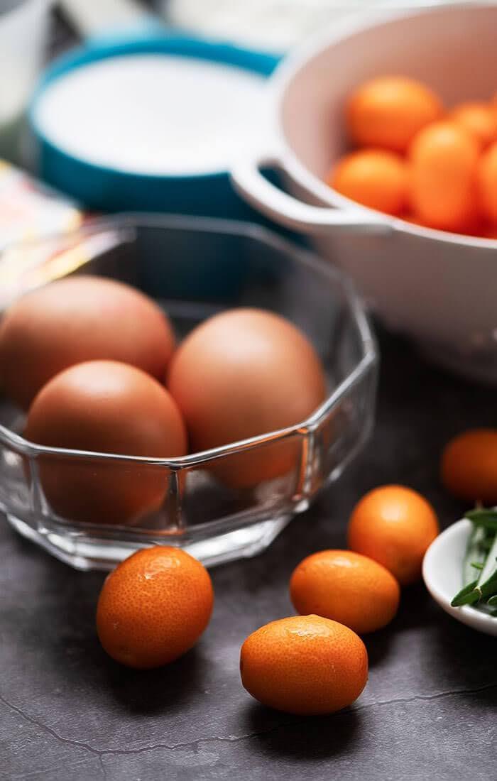 ingredient s to bake kumquat cake