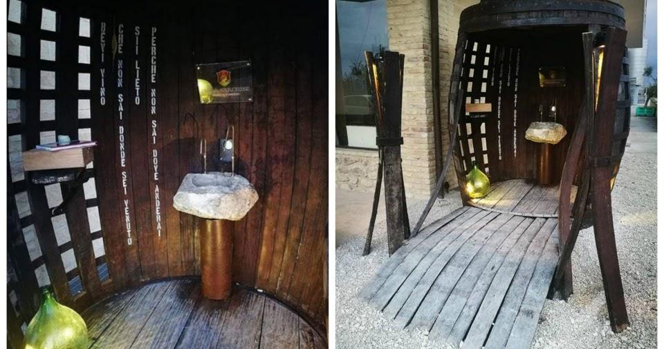 Una fontana di vino gratis in Abruzzo?