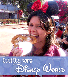 Outfits para Magic Kingdom #DisneyWorld #Orlando #USA