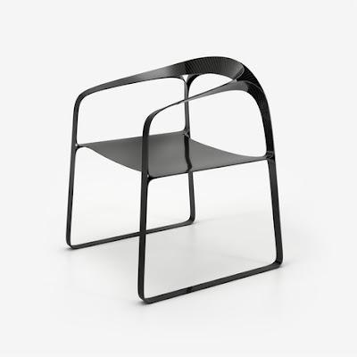 Plooop Carbon Fiber Chair by Timothy Schreiber ...