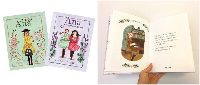 colección Ana Tejas verdes, primeros libros capítulos niños primeros lectores
