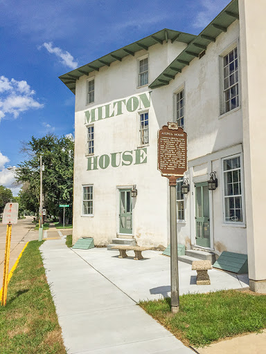 Historic Milton House on the Ice Age National Trail Milton Segment