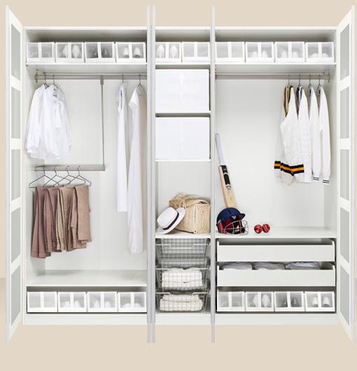 Scatolone dei ritagli leggi fisiche e armadi for Ikea cabina armadio pax