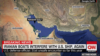 Iran Escalates High Seas Harassment Of US Navy
