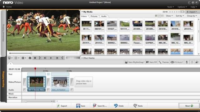 Nero Video 2020 22.0.1013 - Phần mềm chỉnh sửa video
