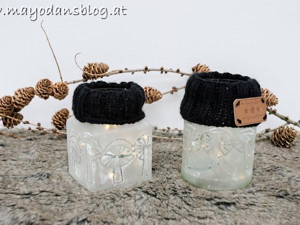 DIY Altglas satinieren auf zwei verschiedene Arten