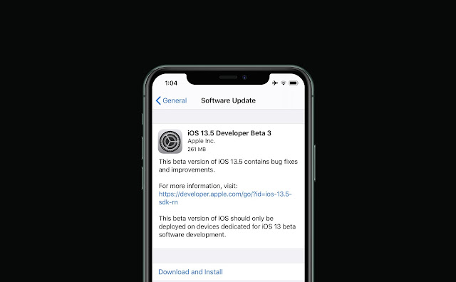 List of iDevices that support iOS 13.5 and iPadOS 13.5 beta 3