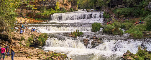 Willow River Falls at Willow River State Park