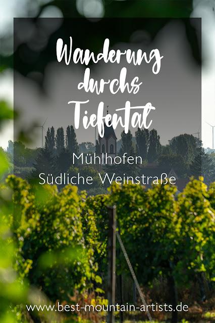 Durchs Tiefental bei Mühlhofen | Wandern Südliche Weinstraße | Billigheim-Ingenheim | Wanderung Pfalz 32