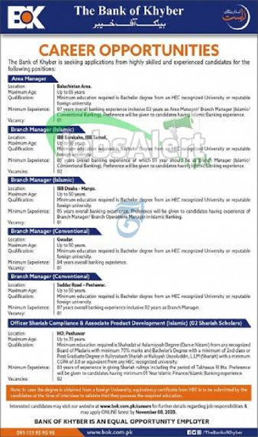 bank-of-khyber-bok-peshawar-jobs-2020-apply-online