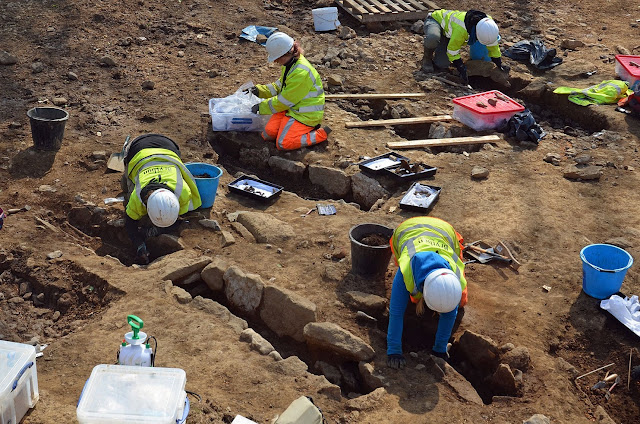 1,500-year-old burial site unearthed in NW Wales