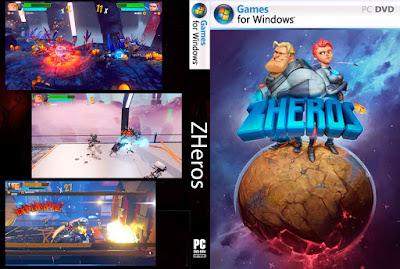 Jogo ZHeros PC DVD Capa
