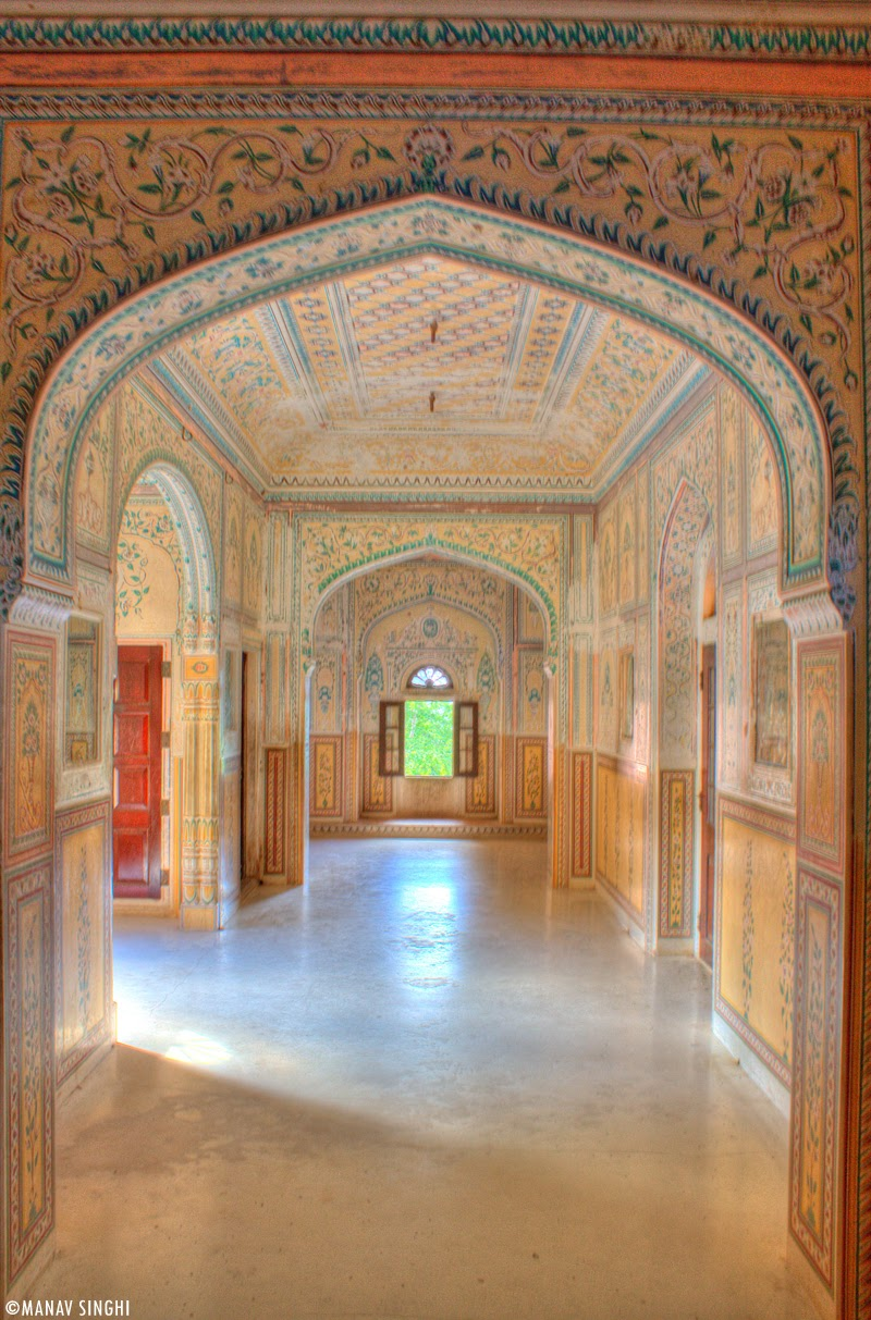 Room at First Floor at Madhavendra Palace, Nahargarh Fort, Jaipur.