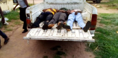 Many Police Officers Killed As Robbers Storm First Bank In Kogi (Viewers Discretion)