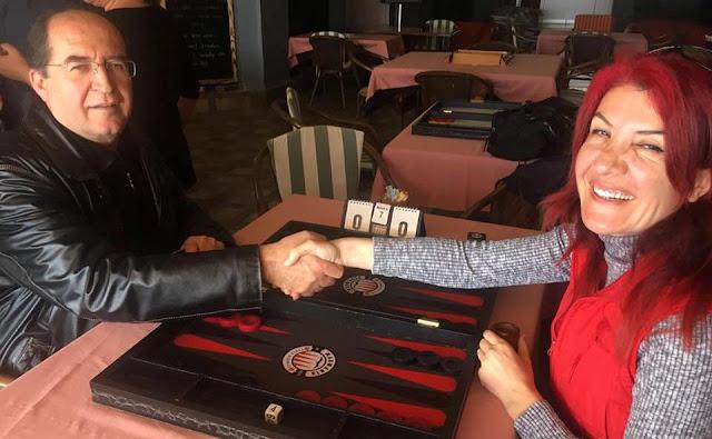 Marmaris Tavla Ligi Ocak-Şubat Sezonu Şampiyonu Serdar Postoğlu