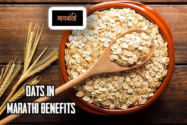 oats in marathi benefits