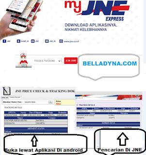 Bagi anda yg baru kenal dunia online dan masih bingung cara bertransaksi online, blog belladyna akan menerangkan cara tracking resi JNE,TIKI Dan Kantor pos