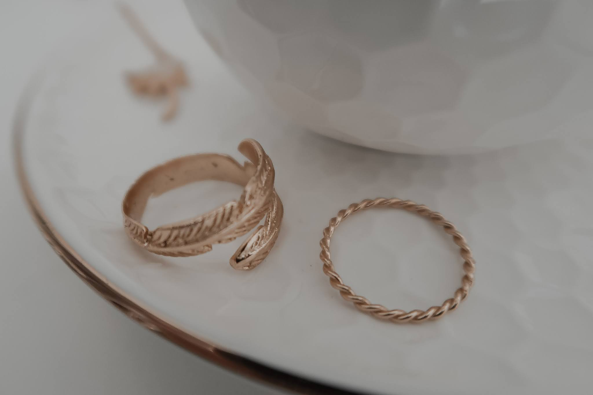 Ottoman Hands Jewellery Gold Rings