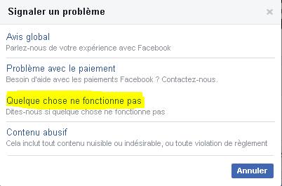 تم حظر موقعي على فيسبوك