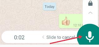 WhatsApp Par Voice Message Kaise Bheje