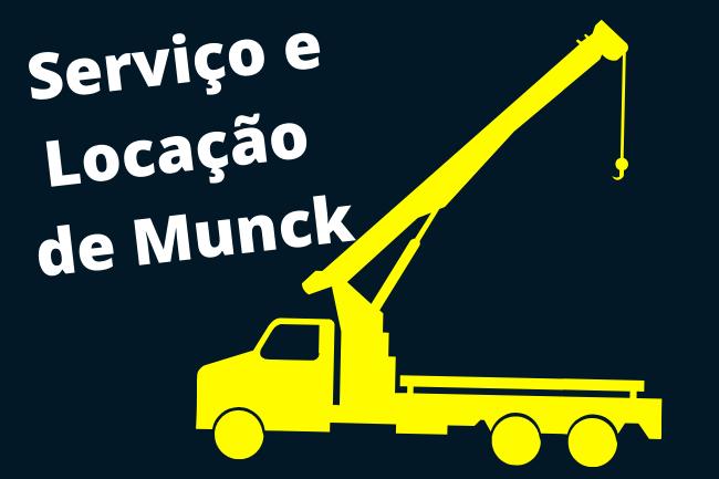 Serviço de Munck em Limeira