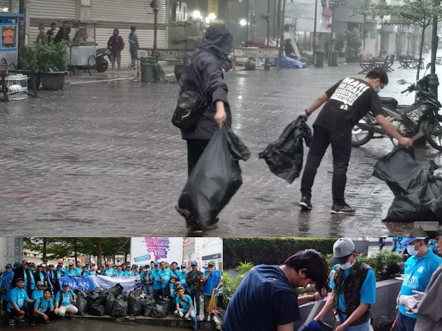 Awali Tahun Baru 2020 dengan Aksi Bersih-Bersih Kota