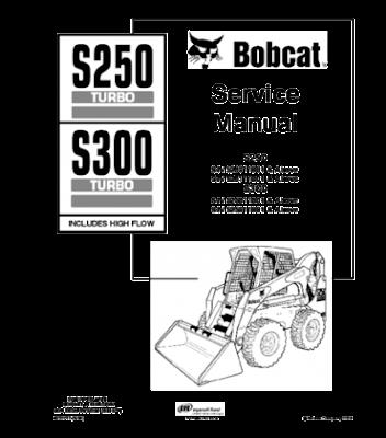 Bobcat Manual Download : BOBCAT S250, S300 SKID STEER
