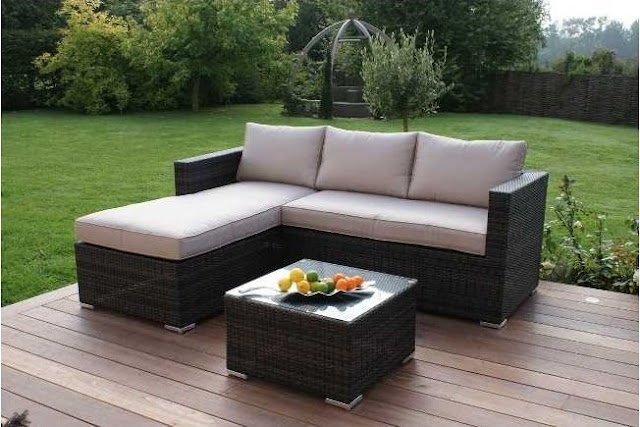 Chaise End Sofa Set