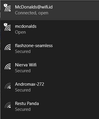 Wifi Gratis Denpasar Password Wifi Gratis Mcdonalds Nangka