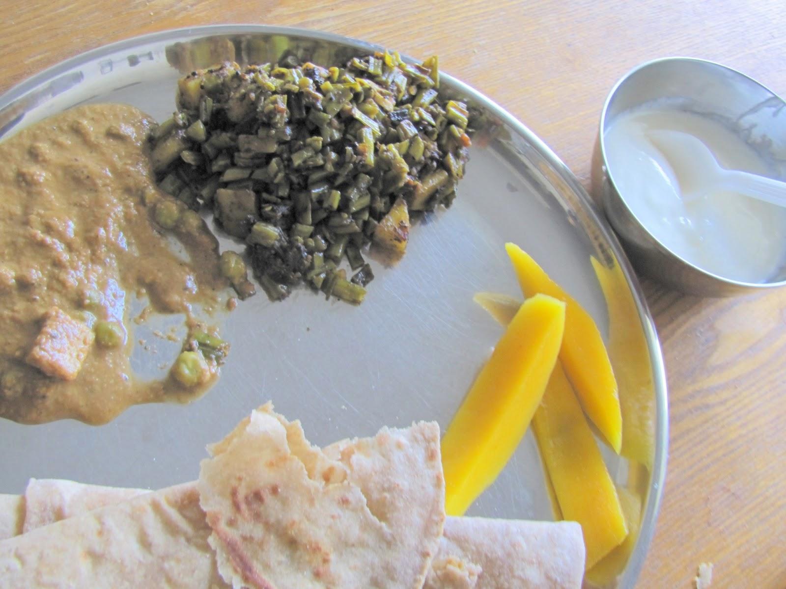 cluster bean gawar bhaji