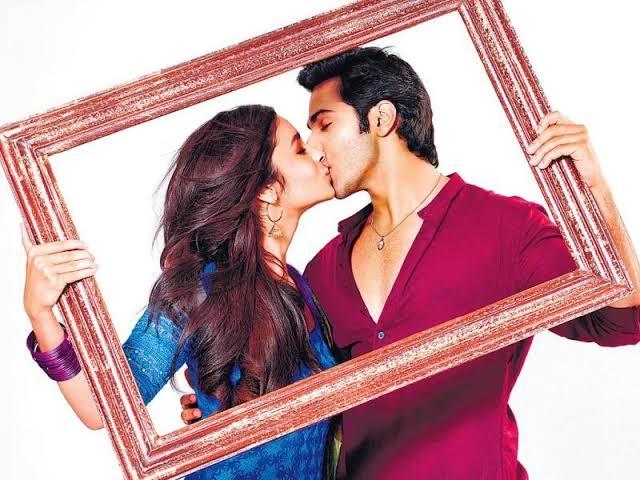 alia bhatt kissing scene