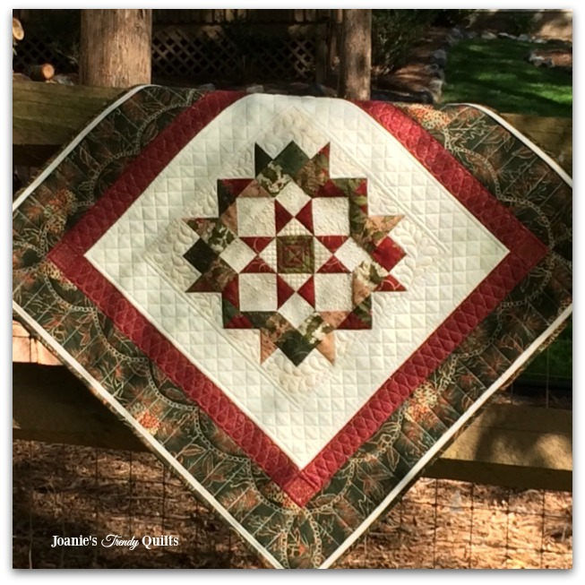 Joanies Trendy Quilts Christmas Carpenter Star