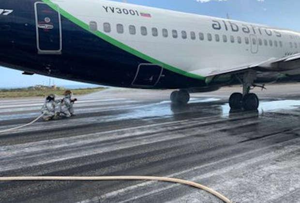 Se retrasaron aterrizajes por avión accidentado en pista de Maiquetía