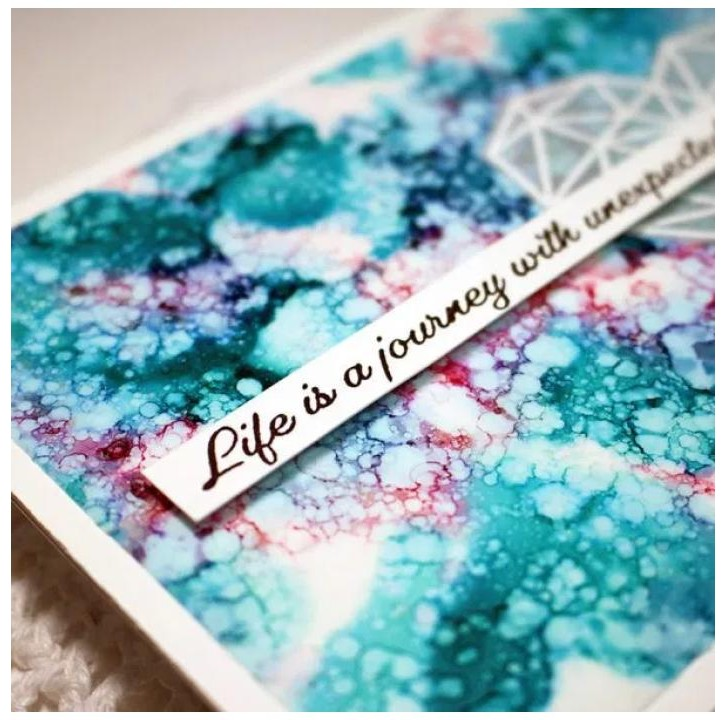 25 projects to make with Alcohol Inks for Art and Craft