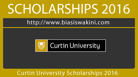 Curtin University International Scholarships 2016