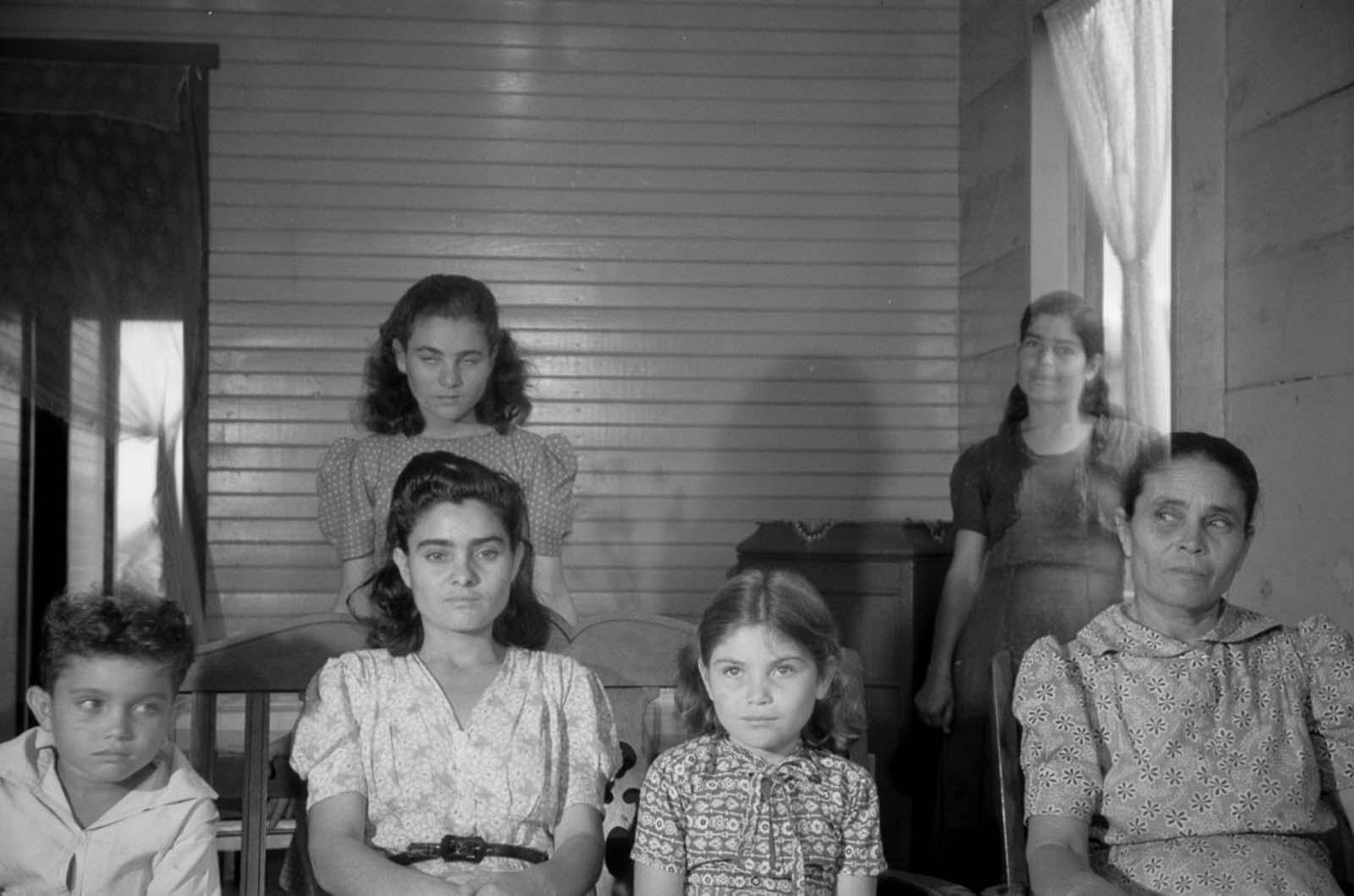 The family of an FSA borrower near Barranquitas.