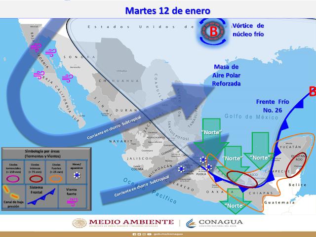 Seguirá el frío hasta el miércoles: hoy Motul registró 8 grados; Mérida 12 grados